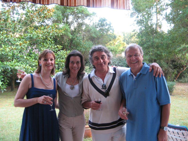Coco, Alain et Patricia, papa