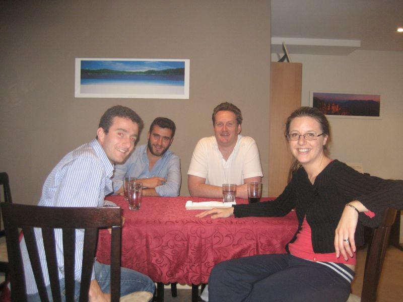 Pete, Bert, Lach et ele
